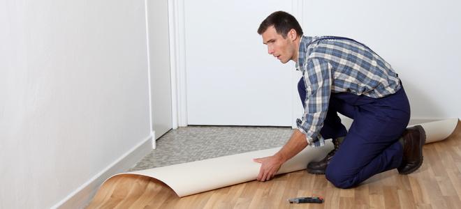 Covering over Linoleum Tile