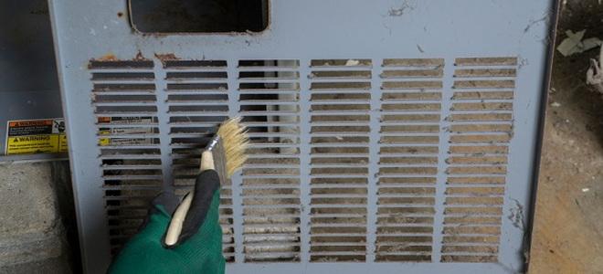 dusting hvac vent