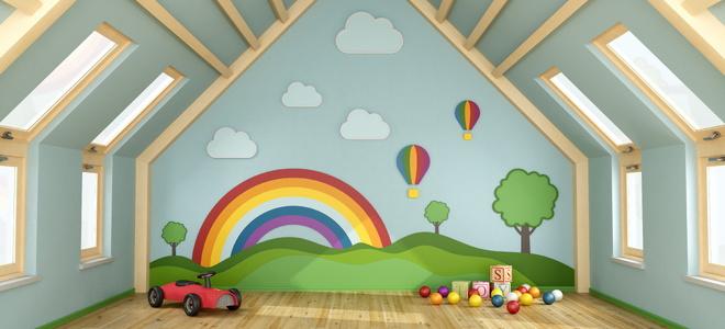 How to Turn an Attic Into a Playroom   DoItYourself.com