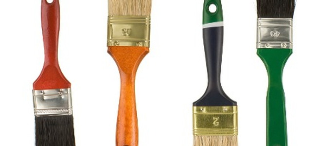 4 different types of paint brushes explained doityourself com