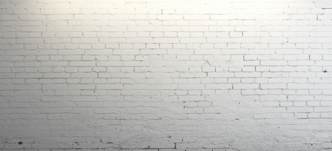 Painting an interior brick wall Plain white wallpaper for walls