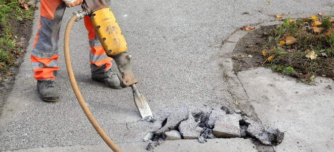 How To Remove A Concrete Walkway Doityourself