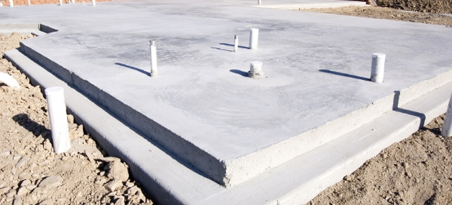 The pros and cons of a slab foundation for Concrete foundation types