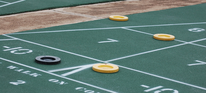 How To Make A Shuffleboard Court In Your Yard How To Make A Shuffleboard  Court In Your Yard