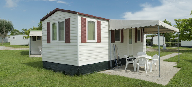 Replace Or Repair The Underside Of A Mobile Home