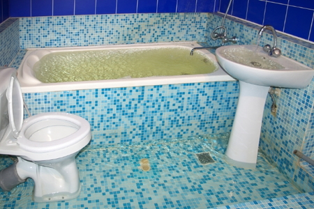 How To Repair Water Damage In A Bathroom Doityourself Com