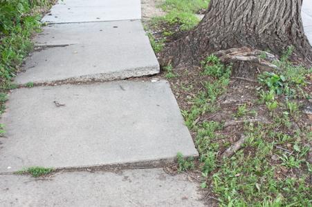 Concrete Sidewalk Repair How To Repair An Uneven Sidewalk