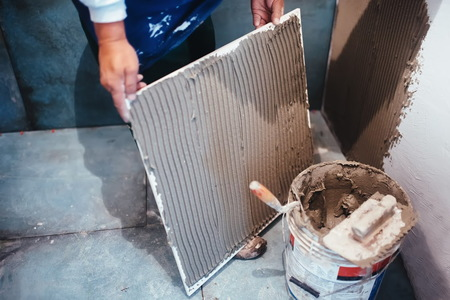 Removing Tile Adhesive From Concrete Doityourself Com