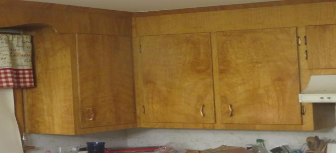 Brown And White Cupboards