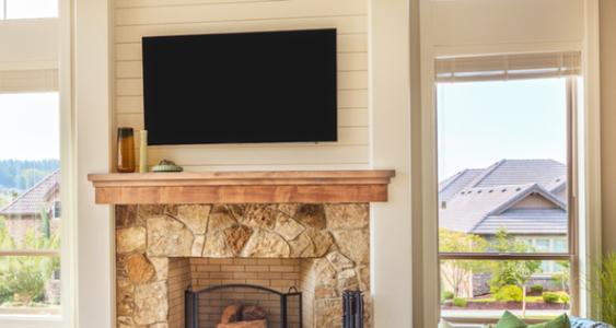 Mounting A Plasma Tv On A Brick Wall Fireplace