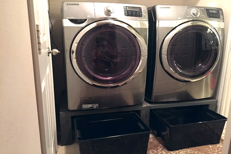 Build Your Own Laundry Appliance Pedestals Doityourself Com