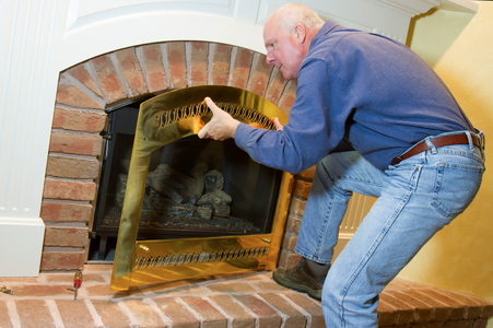 How Does a Fireplace Damper Work? | DoItYourself.com