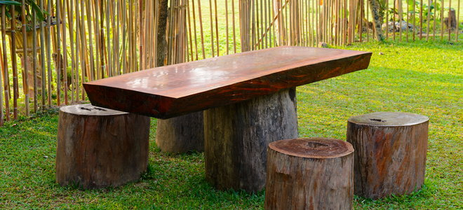 How To Properly Treat Wood For Your Log, Outdoor Log Furniture