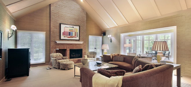 4 Tips For Installing Vaulted Ceiling Lighting Doityourself Com