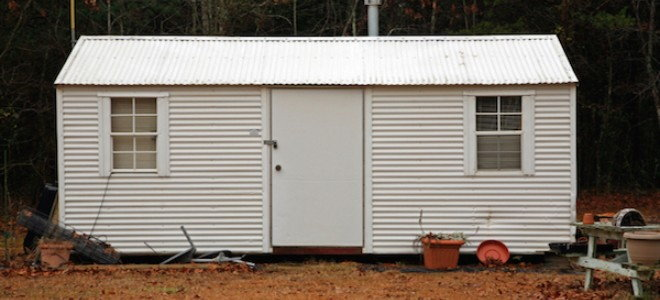 6 Tips For Painting A Metal Shed Doityourself Com