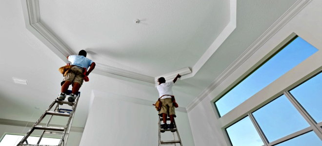 How To Change A Cathedral Ceiling To A Standard Ceiling Doityourself Com