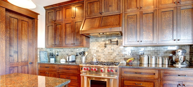 How To Strip Stain From Old Kitchen Cabinets Doityourself Com