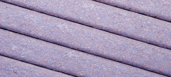 what is composite decking material made of