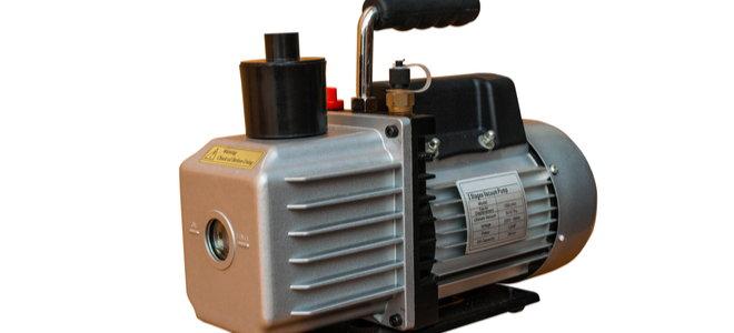 vacuum air pump for evacuating air conditioner