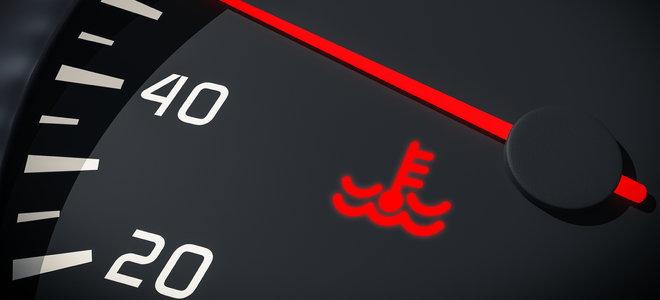 engine coolant indicator light