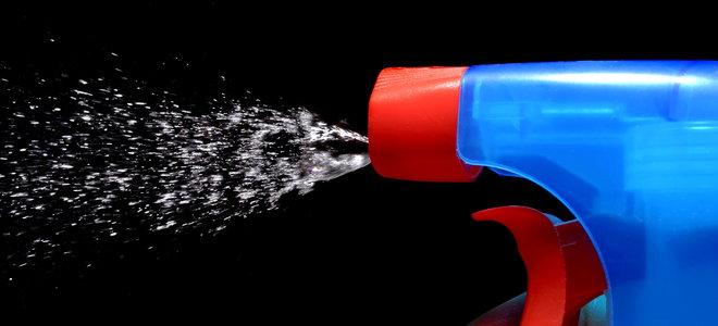 vaporisateur bouchent le liquide de pulvérisation