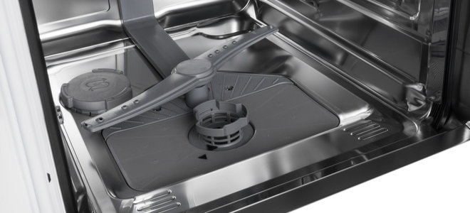 open empty dishwasher