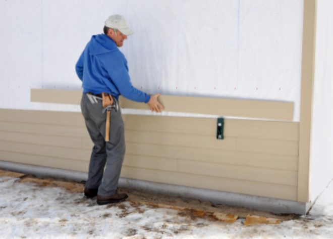 How To Install Exterior Wall Cladding To Your Home