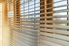 window blinds on a window