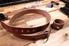 Leather belt on worktable