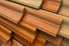 a stack of different wood trims