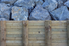 retaining wall against hillside of boulders
