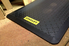 Stanley utility mat on floor of workshop