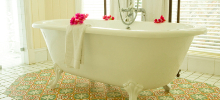 How To Install Drain And Supply Lines To A Clawfoot Tub | DoItYourself.com