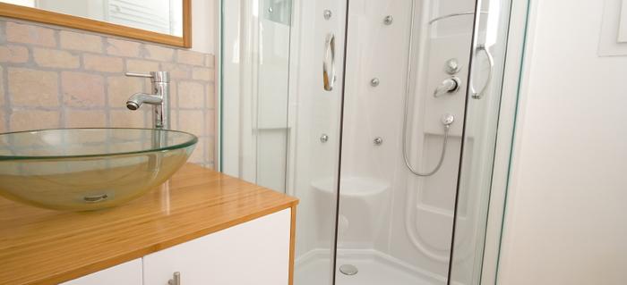 4 Tips for Cleaning a Fiberglass Shower Enclosure | DoItYourself.com