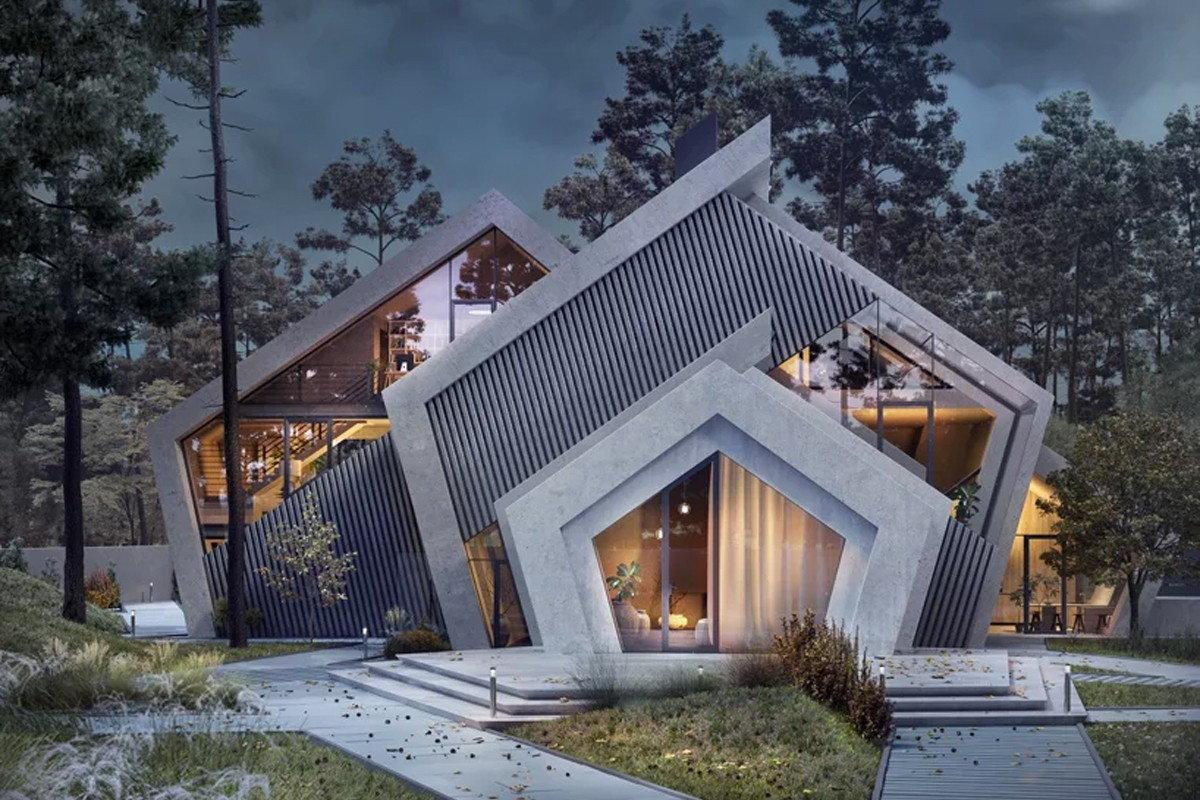 Warmhouse Studio's stark geometric