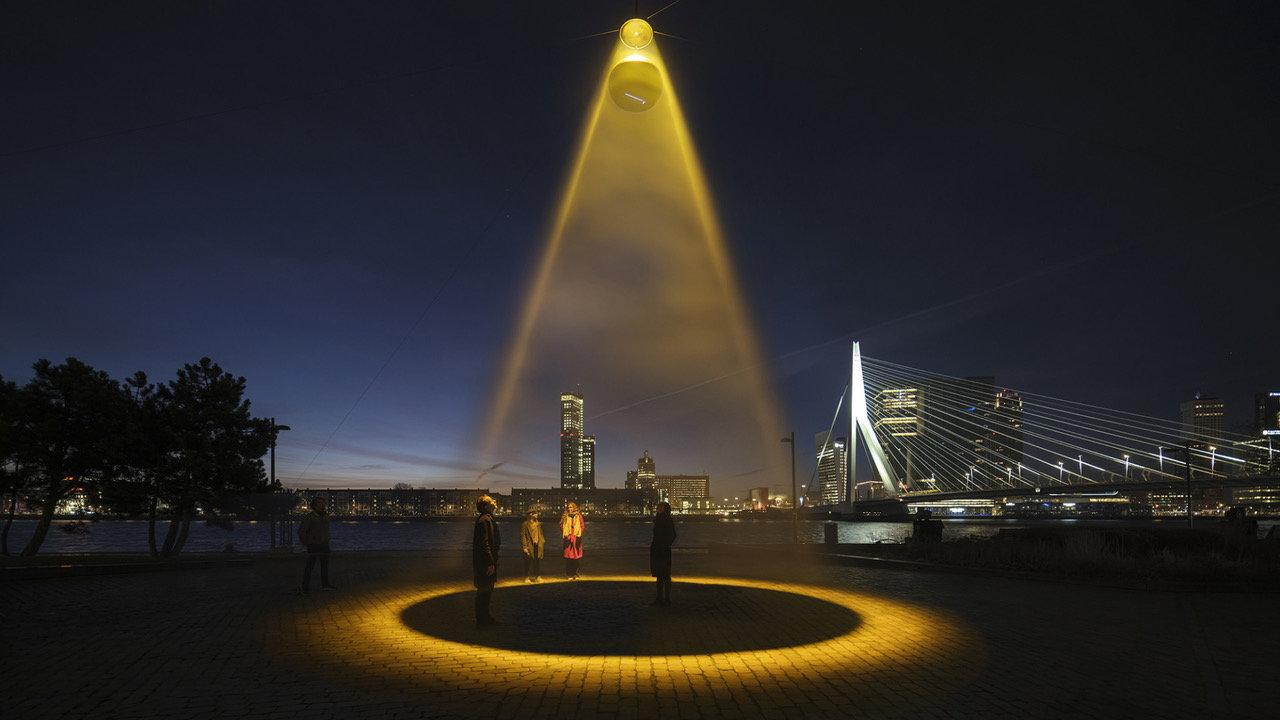 "Ultraviolet ""Urban Sun Light"" by Studio Roosegaarde Sanitizes Public Spaces"