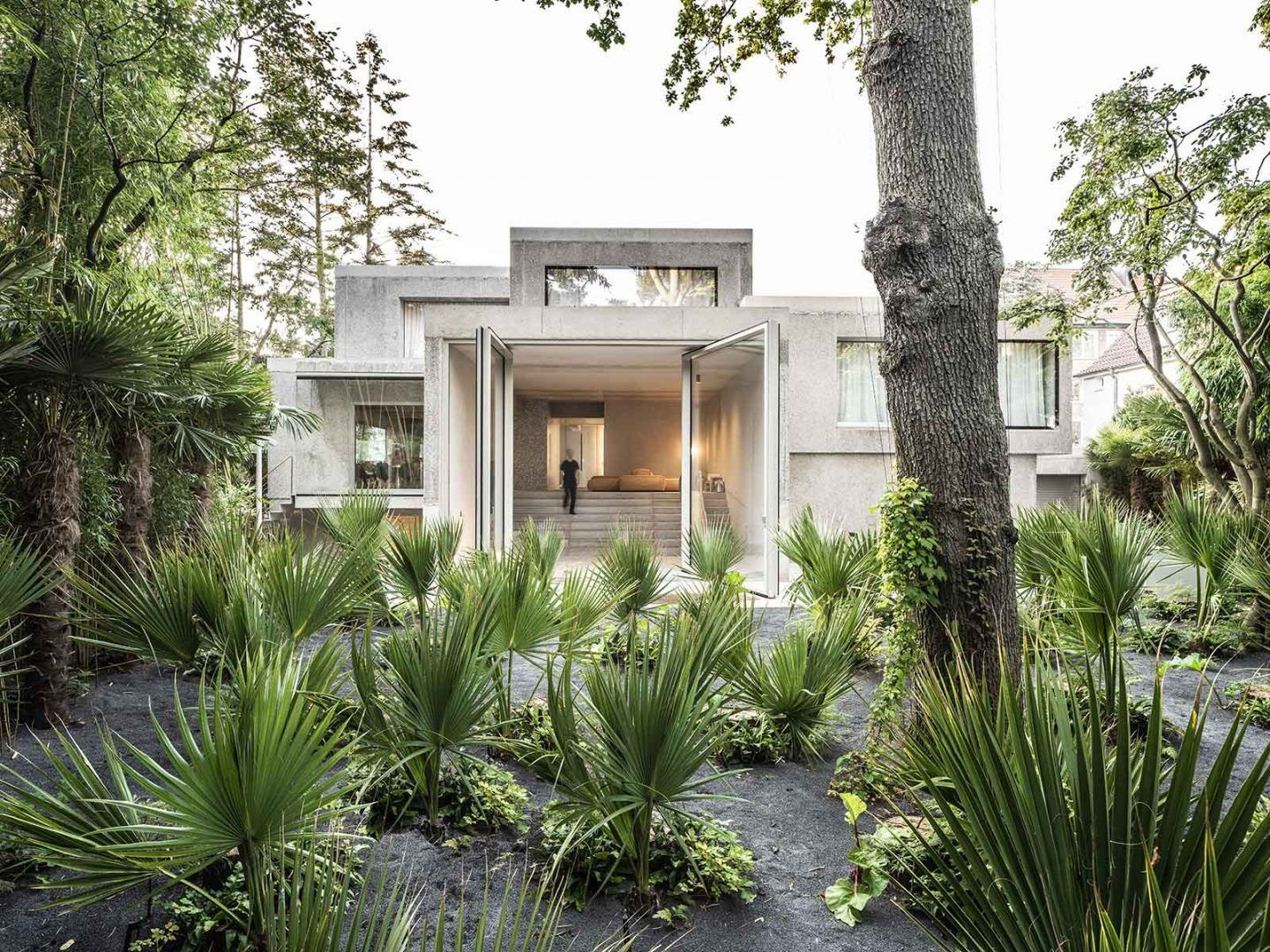 Casa Morgana: Brutalist German Home Transformed with Plants