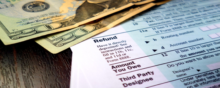 What  Are  You  Doing  with  Your  Tax  Refund?