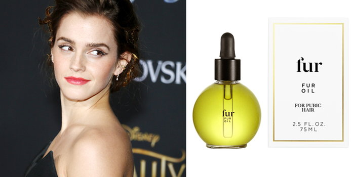 5d75238ffd4 ... Emma Watson recently revealed her beauty routine to the Into the Gloss  blog and in her unusually frank answer revealed that she oils her pubic hair .
