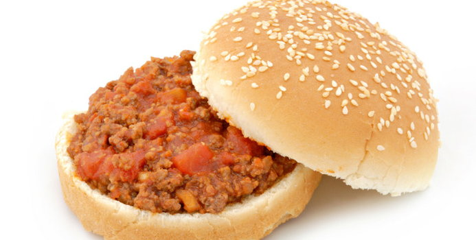 recipe: how many calories in a sloppy joe with bun [3]