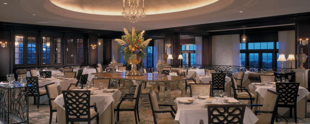 The Ocean Room in The Sanctuary at Kiawah Island Golf Resort.