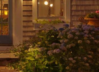 The Little Inn on Pleasant Bay aglow