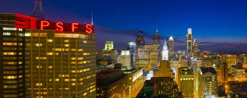 Loews Philadelphia Hotel is the home to the PSFS building