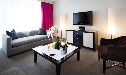 Park Avenue Suite Living Room