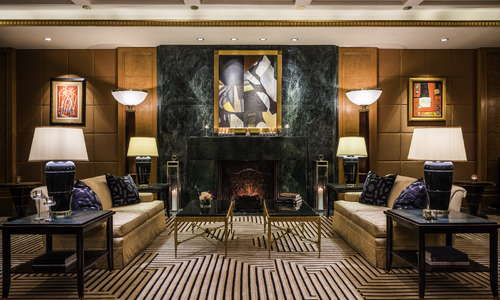 Lobby - Fireplace