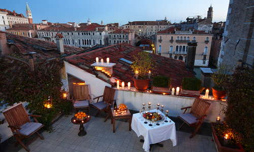 Terrace, evening