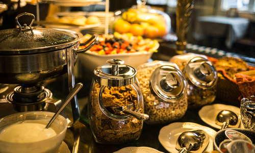 Hot Buffet Breakfast Daily