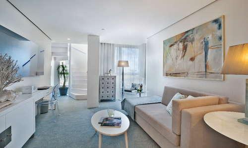 Living room of the Duplex suite