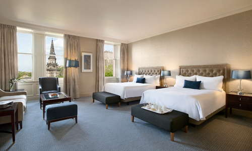Premier double room with Castle view
