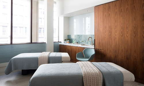AquaVie Spa located at The Westgate Hotel - San Diego. Luxury treatment rooms with expert service.